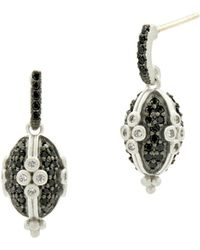 Freida Rothman - Industrial Clover Earrings - Lyst