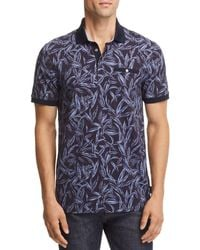 Ted Baker - Softi Tropical Print Regular Fit Polo - Lyst