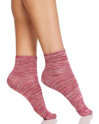 Hue - Super Soft Cropped Socks - Lyst