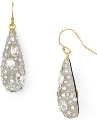 Alexis Bittar - Lucite Crystal Dust Dewdrop Earrings - Lyst
