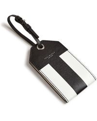 Tory Burch - Color-blocked Leather Luggage Tag - Lyst