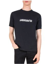The Kooples - Reverse Logo Tee - Lyst