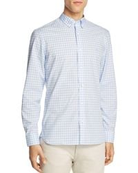 Burberry - Stopford Gingham Regular Fit Button-down Shirt - Lyst