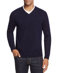 Bloomingdale's - Cashmere V-neck Sweater - Lyst