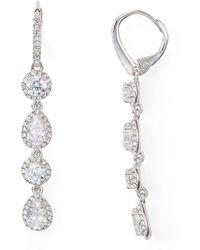 Nadri - Leverback Earrings - Lyst