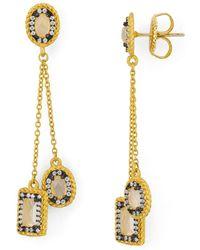 Freida Rothman - Delicate Drop Earrings - Lyst