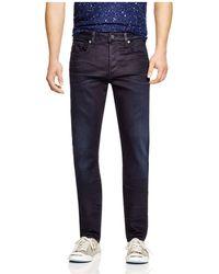 G-Star RAW - 3301 Slander Super Stretch Slim Fit Jeans In Dark Aged -