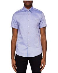 Ted Baker - Wallo Regular Fit Oxford Button-down Shirt - Lyst