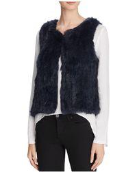 525 America - Classic Fur Vest - Lyst