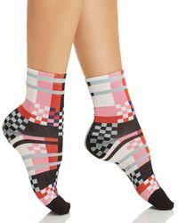 Happy Socks - Hysteria By Polly Ankle Socks - Lyst
