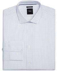 W.r.k. - Micro Dot Square Slim Fit Dress Shirt - Lyst