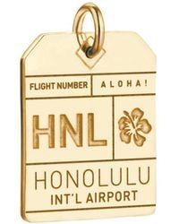Jet Set Candy - Hnl Honolulu Luggage Tag Charm - Lyst