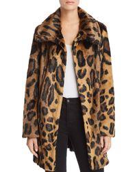 Unreal Fur - Leopard Print Furever Faux Fur Coat - Lyst