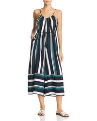 Dolce Vita - Venice Stripe Playa Swim Cover-up Jumpsuit - Lyst