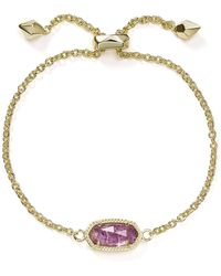 Kendra Scott - Elaina Birthstone Bracelet - Lyst