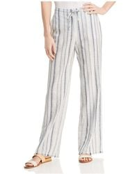 NIC+ZOE - Nic+zoe Morning Stroll Striped Trousers - Lyst