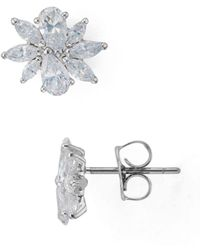 Nadri - Allegro Cluster Earrings - Lyst
