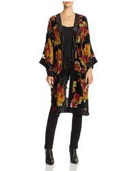 Band Of Gypsies - Vintage Floral Kimono - Lyst