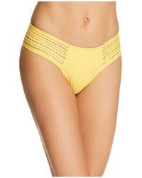 Robin Piccone - Perla Side Tab Bikini Bottom - Lyst