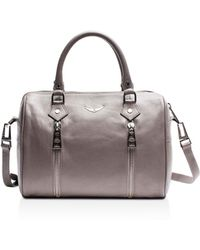 Zadig & Voltaire - Sunny Small Leather Satchel - Lyst