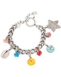 DANNIJO - Hanky Charm Bracelet - Lyst