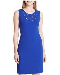 CALVIN KLEIN 205W39NYC - Eyelet-detail Dress - Lyst 859d77854