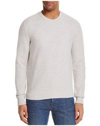 Bloomingdale's - Birdseye Cotton Sweater - Lyst