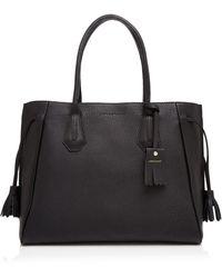 Longchamp - Penelope Leather Shoulder Tote - Lyst