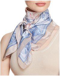 Max Mara - Navetta Printed Silk Scarf - Lyst
