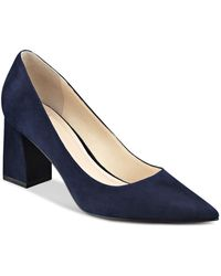Marc Fisher - Zala Suede Pointed Toe Court Shoes - Lyst