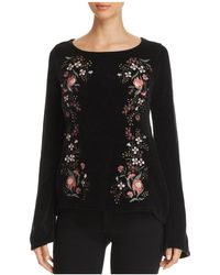 Cupcakes And Cashmere Ruthie Embroidered Chenille Jumper