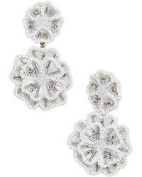BaubleBar - Marise Floral Drop Earrings - Lyst