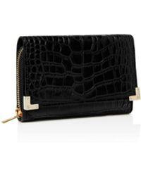 The Kooples - Croc-embossed Leather Wallet - Lyst