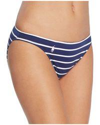 Ralph Lauren - Polo French Stripe Hipster Bikini Bottom - Lyst