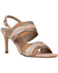 Donald J Pliner - Women's Kit Mixed Leather Slingback Sandals - Lyst