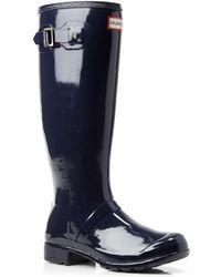HUNTER - Original Tour Gloss Rain Boots - Lyst
