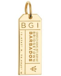 Jet Set Candy - Bgi Barbados Luggage Tag Charm - Lyst