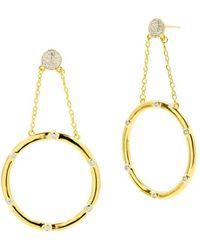 Freida Rothman - Radiance Loop Drop Earrings - Lyst