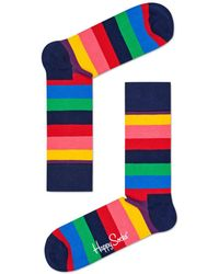 Happy Socks - Rainbow Striped Socks - Lyst