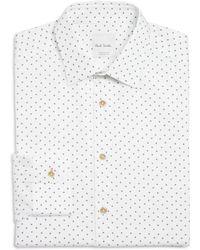 Paul Smith - Airplane Print Slim Fit Dress Shirt - Lyst