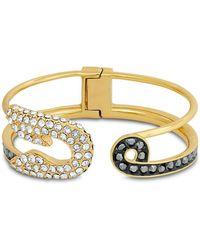 Karl Lagerfeld - Safety Pin Cuff Bracelet - Lyst