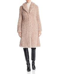 Unreal Fur - De La Cream Faux Shearling Coat - Lyst