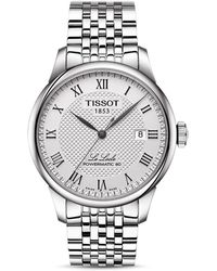 Tissot - Le Locle Automatic Stainless Steel Bracelet Watch - Lyst