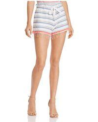 lemlem - Asha Drawstring Shorts - Lyst