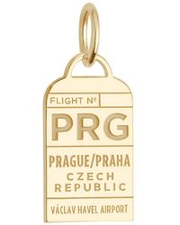 Jet Set Candy - Czech Republic Prg Luggage Tag Charm - Lyst