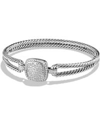 David Yurman - Albion Bracelet With Diamonds - Lyst