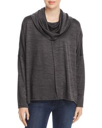 Status By Chenault - Cowl Neck Poncho Sweater - Lyst