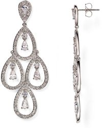 Nadri - Kite Chandelier Earrings - Lyst