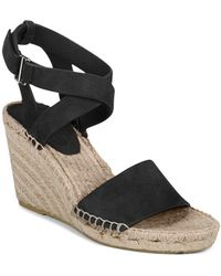 Via Spiga - Women's Nevada Suede Platform Wedge Espadrille Sandals - Lyst