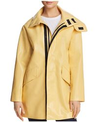 Avec Les Filles - Patent Raincoat - Lyst